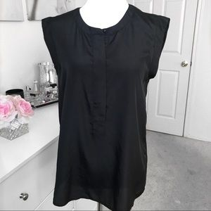 J Crew Black Blouse